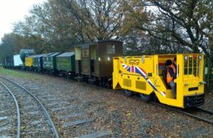 Clayton Equipment Demonstrates New Tunnelling Locomotive