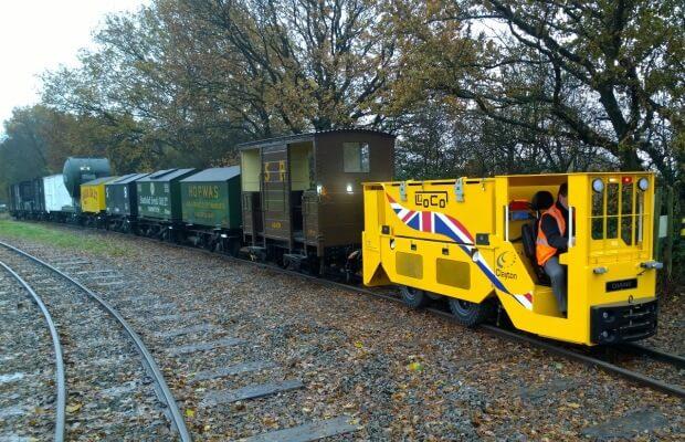 Tunnelling Locomotive