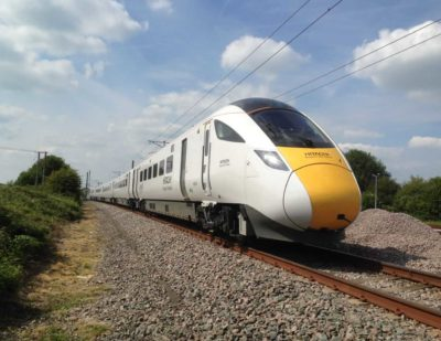 UK: New Trains will be Faster, Smarter and Better Connected