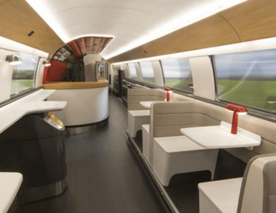SNCF Presents Stylish New TGV Oceane