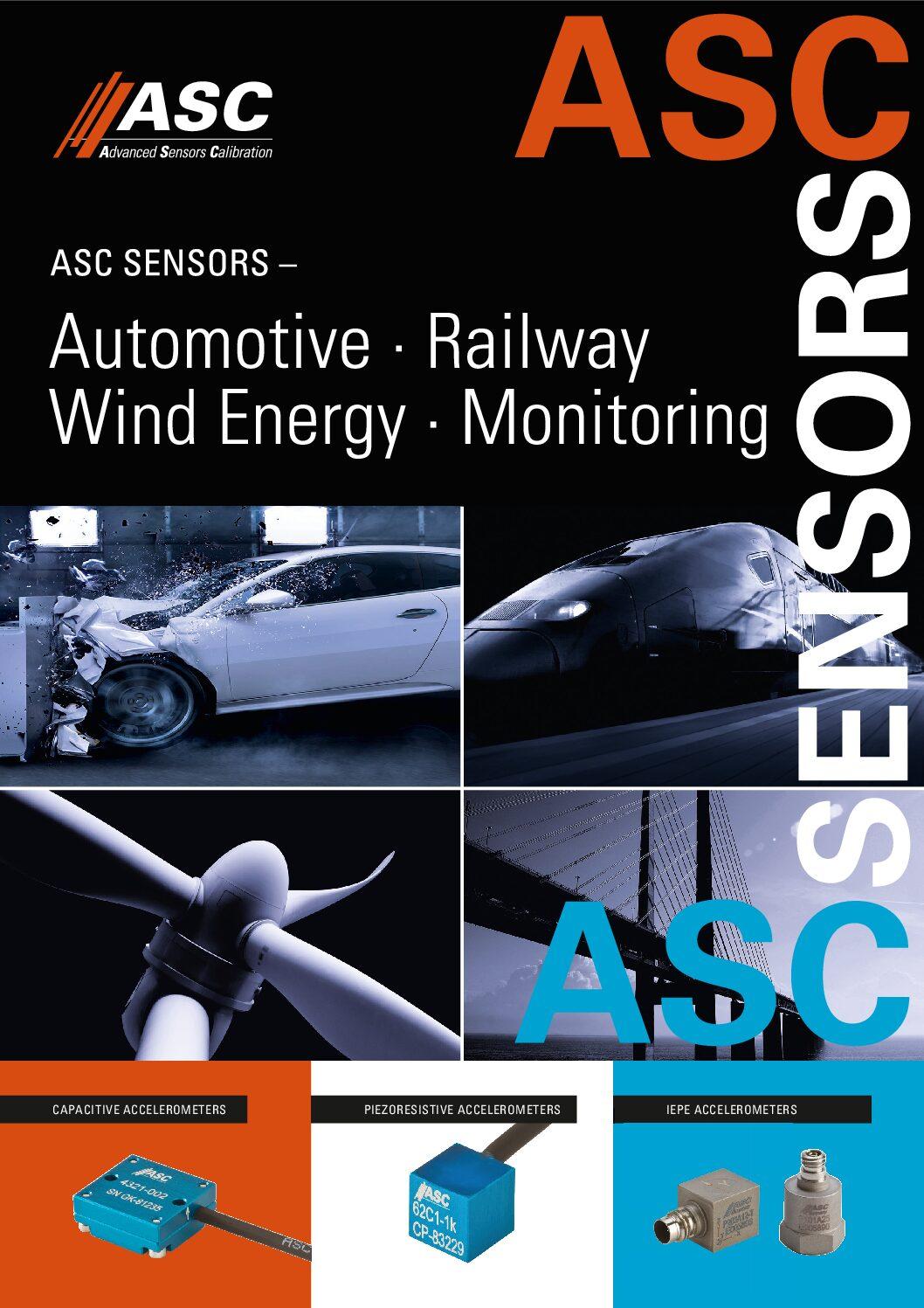ASC Sensors Railway Accelerometers