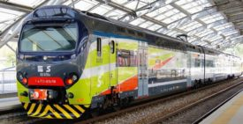 Hitachi Rail Italy TSR Train