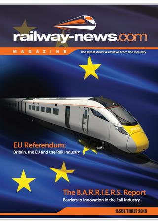 Railway-News Magazine Issue 3 2016