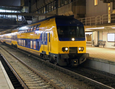 Dutch Passenger Trains are Now Using 100% Wind Power
