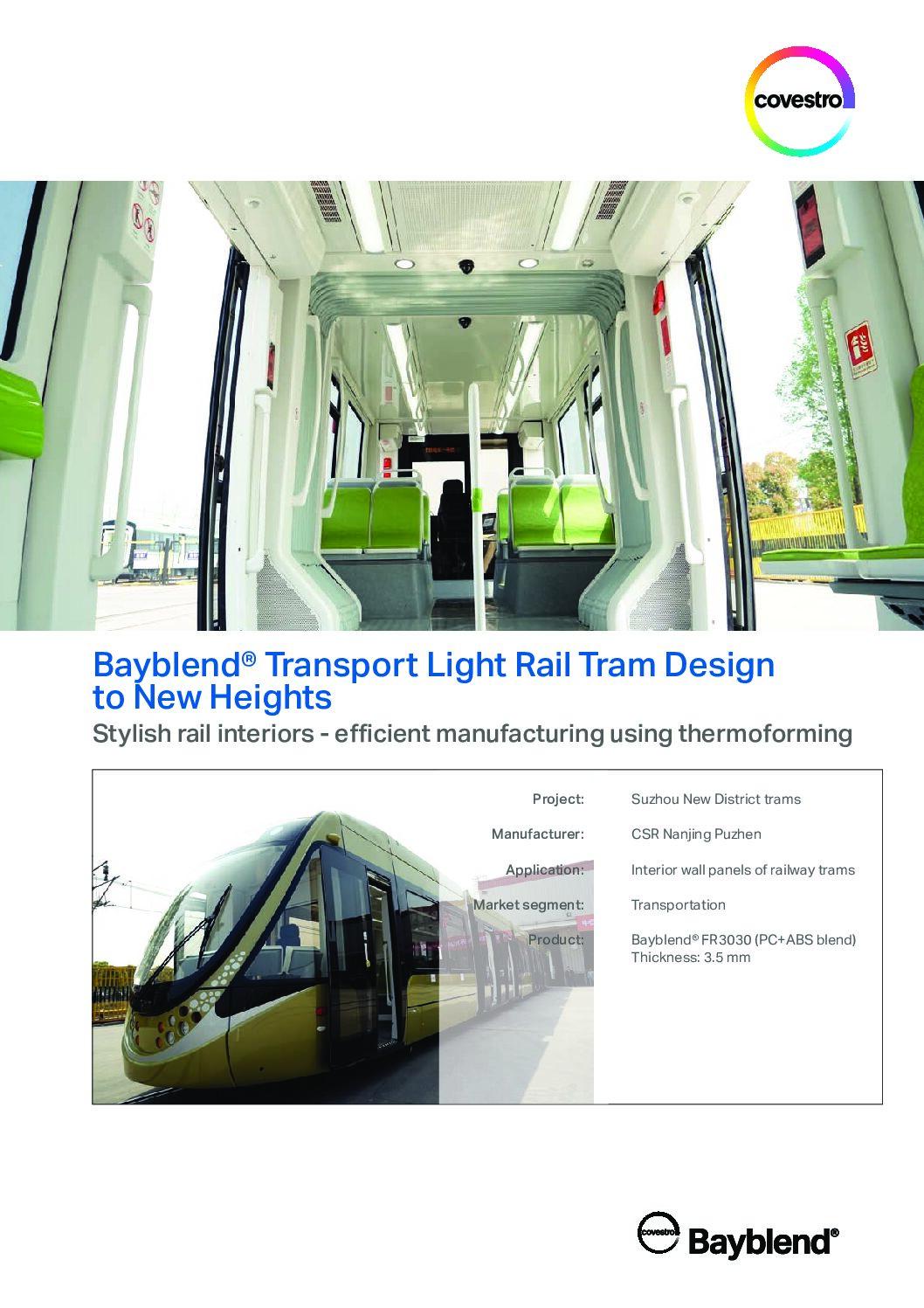 Bayblend Transport Light Rail Tram