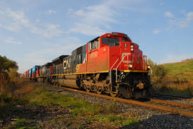 CN Locomotive Toronto