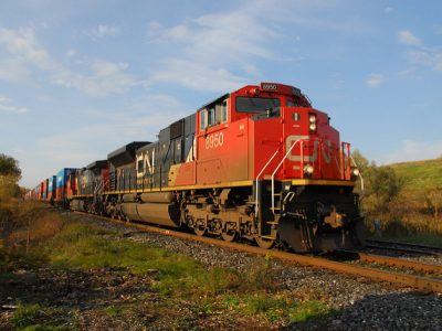 CN Locomotive Toronto