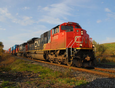 Canada's Railways Continue to Reduce Greenhouse Gas Emissions