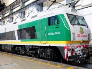 Diesel Locomotive Nigeria
