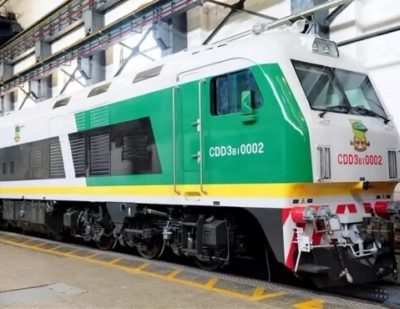 CRRC Unveil Locomotives for Nigeria and Serbia