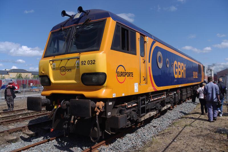 GBRf class 92 electric locomotive