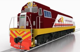Kenya Railways Shunting Locomotive