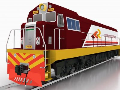 Kenya Railways Shunting Locomotive