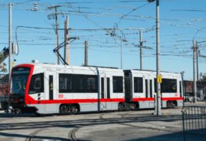New Muni Metro Train Unveiled in San Francisco