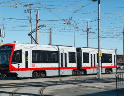 New Muni Metro Train Unveiled in San Francisco