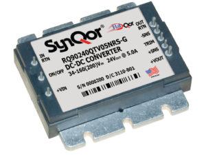 RailQor DC-DC Power Converter Flanged
