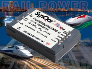 SynQor DC-DC Power Converter Railway Applications