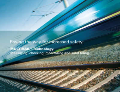 Schenck Process Wins Major MULTIRAIL® Contract from Swedish Railway Authority
