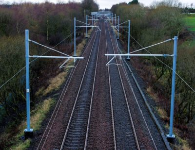 Network Rail Awards £49m Shotts Line Electrification Contract