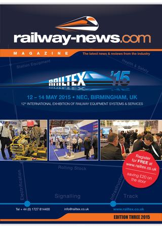 Railway-News Magazine Railtex 2015
