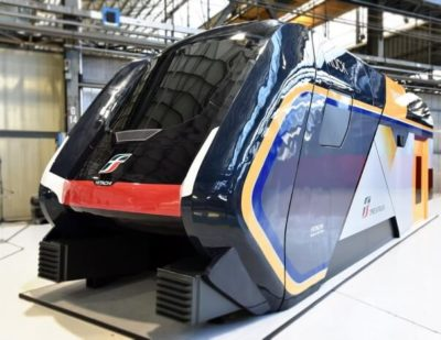 Hitachi and Trenitalia Unveil New Rock Trains