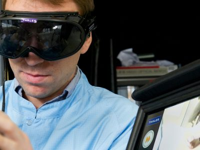 Thales augmented and virtual reality