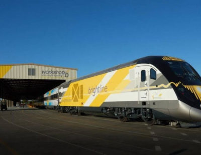 Brightline Reveals First Completed Trainset