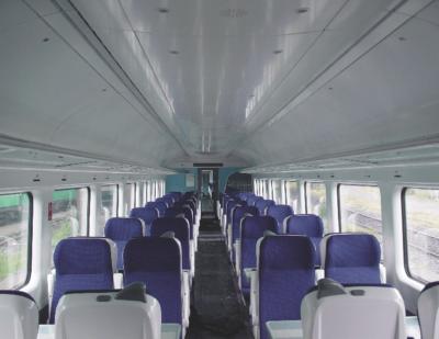 Interior Rail Vehicle Design
