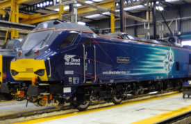 88002 Prometheus at DRS Kingmoor Depot