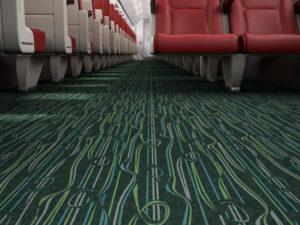 Flotex FR flocked flooring