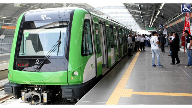 Alstom Lima Metro