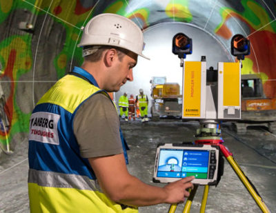 Amberg Technologies Presents New Tunnelscan Plus Product
