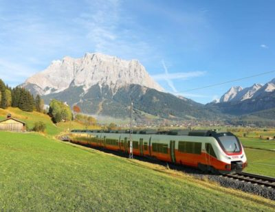 Austrian Federal Railways Orders New Regional Trains