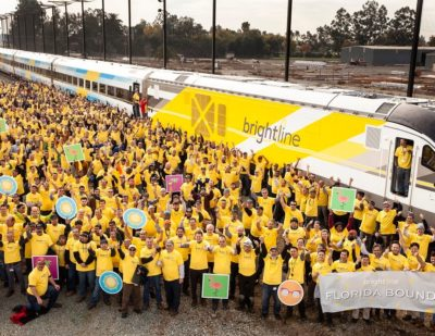 Siemens Completes First Brightline Trainset