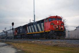 CN fuel tank train