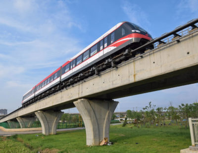 Changsha Welcomes Second Batch of Maglev Trains