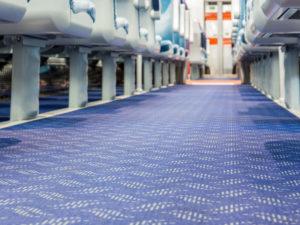 Translink NI Railways – Flotex FR flooring