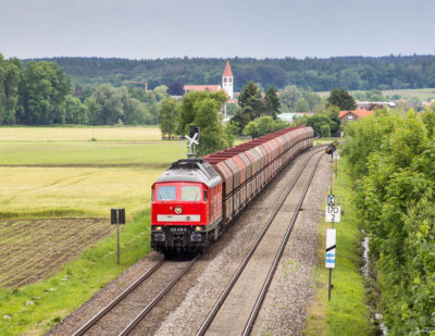 German Rail Freight Continues to Decline
