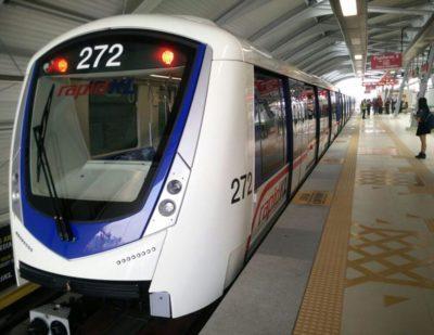 Driverless Bombardier Metro Train Enters Service in Kuala Lumpur