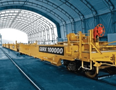 Greenbrier Announces Production of 100,000th Intermodal Double Stack Unit