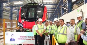 Alstom Delivers Ahead of Schedule the First Lucknow Metro Trainset