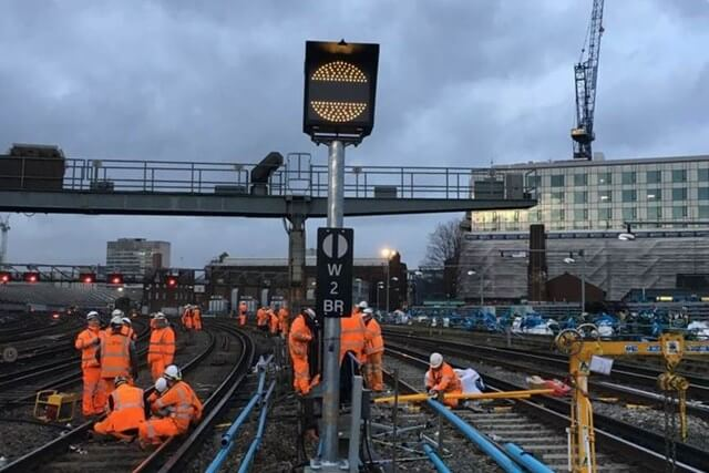 Network Rail Christmas Upgrades
