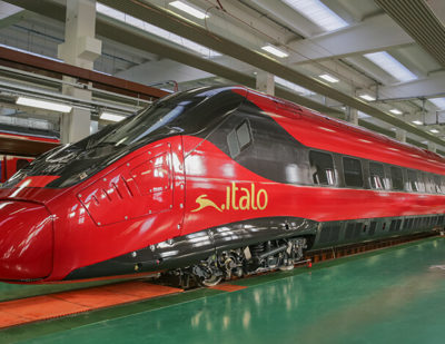 First NTV Pendolino Italo Car Revealed