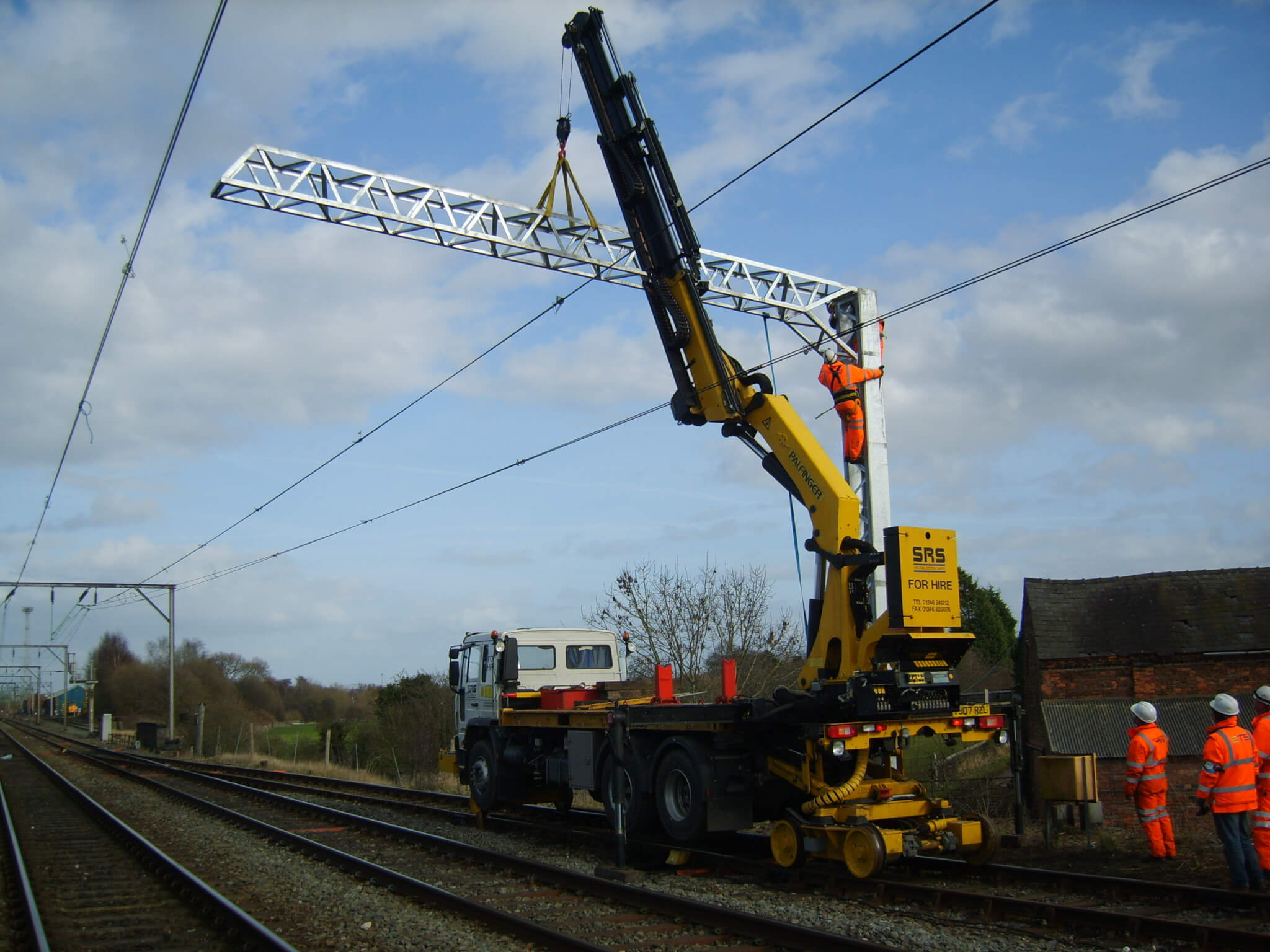SRS Hire Fleet, One of many Lorry Loader RRV operated by SRS Rail System International, Contact us to discuss your requirements.