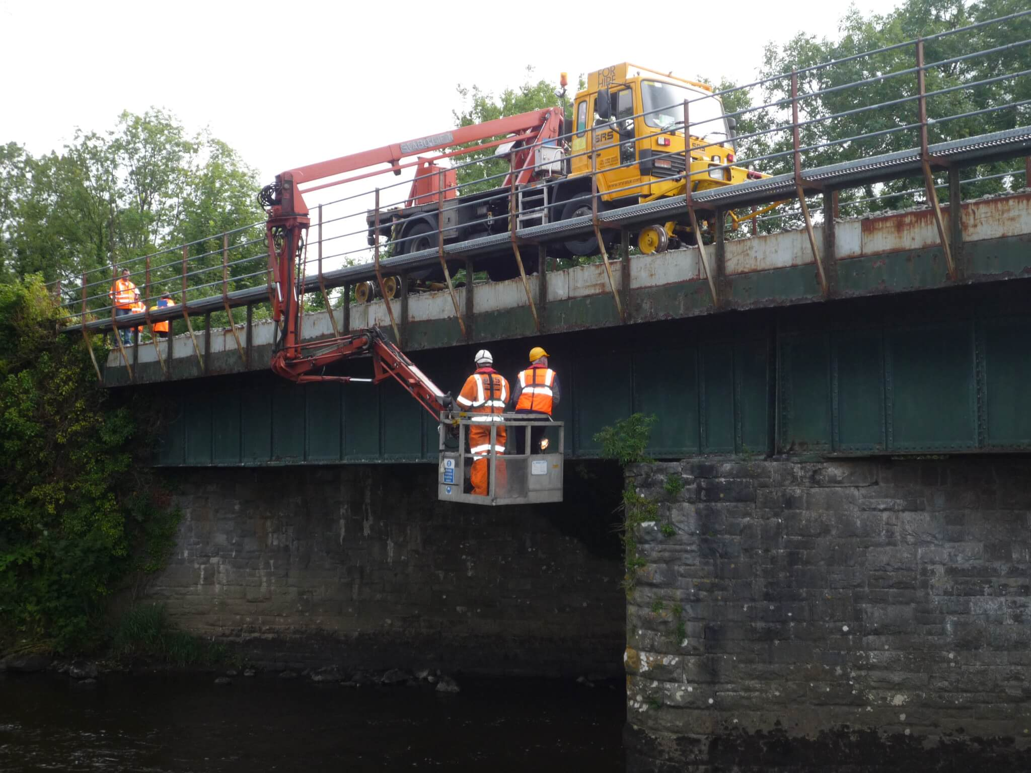 SRS Hire Fleet, The Viaduct and Bridge inspection Road Rail Vehicle
