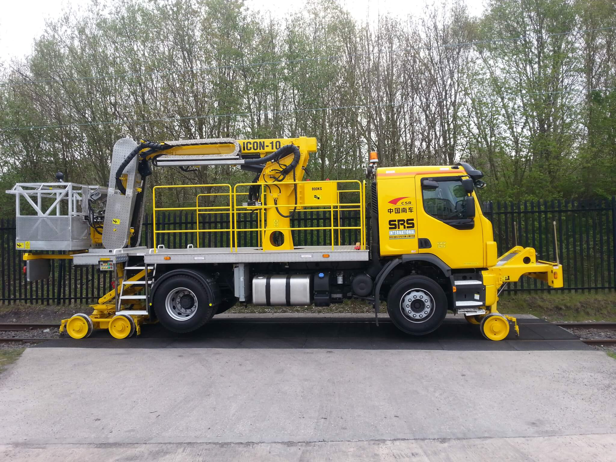 SRS Hire Fleet and Sales Product, The Icon 10 MEWP RRV