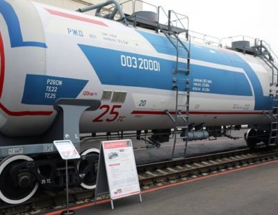 'Technically Complex' Tank Wagon Certified in Russia