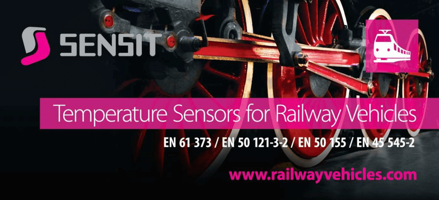 Temperature Sensors for Rail Vehicles from SENSIT s.r.o.