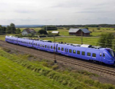 Delivery of 30 Coradia Regional Trains to Sweden Begins