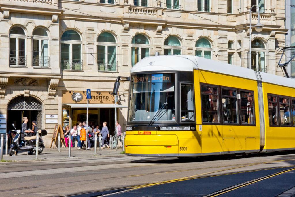 berlin flexity trams